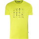 Meru Sete SS Shirt Men Lime